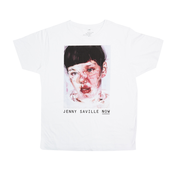 Red Stare Head IV by Jenny Saville extra large t-shirt