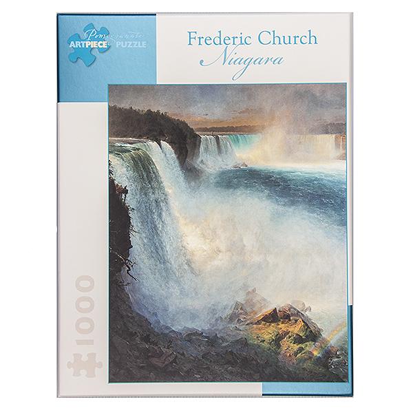 Niagara Falls by Frederic Church jigsaw puzzle (1000 pieces)