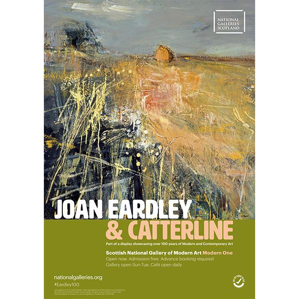Joan Eardley & Catterline exhibition poster