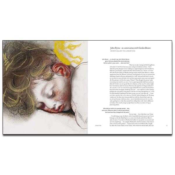 John Byrne: Sitting Ducks exhibition book (paperback)