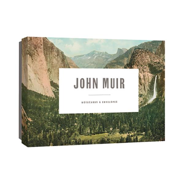 John Muir notecard box set (12 cards)