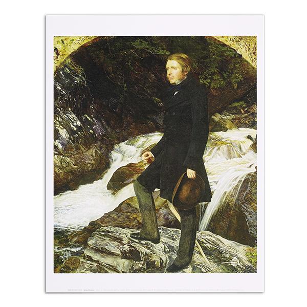 John Ruskin by John Everett Millais art print (35.5 x 28 cm)