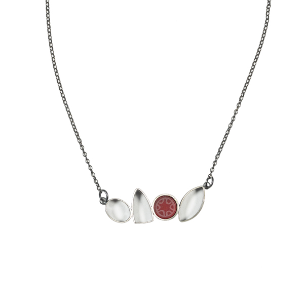 Kathryn Williamson Scarlet Treasure Necklace