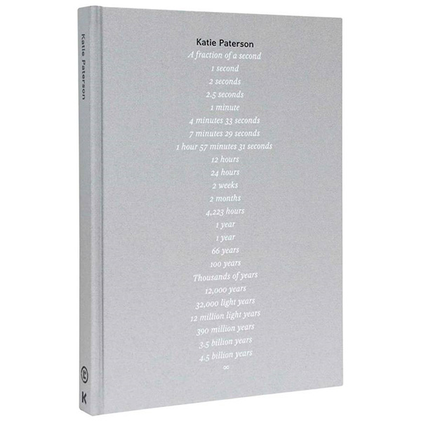 Katie Paterson: A fraction of a second (hardback)