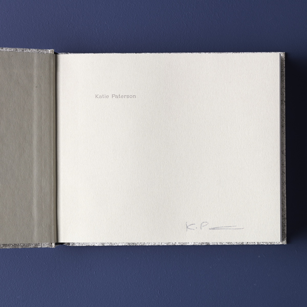 A place that exists only in moonlight by Katie Paterson signed copies (limited edition hardback)