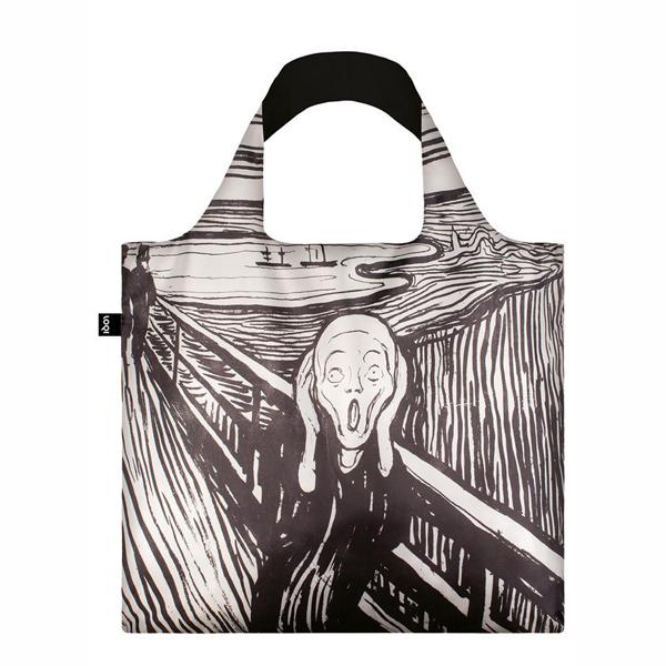 The Scream Edvard Munch LOQI Reusable Carrier Bag