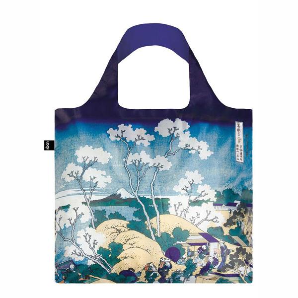 Fuji from Gotenyama by Katsushika Hokusai reusable water-resistant carrier bag