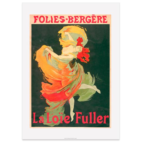 La Loie Fuller Jules Chéret Large Poster Print
