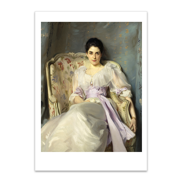 Lady Agnew of Lochnaw by John Singer Sargent A5 postcard