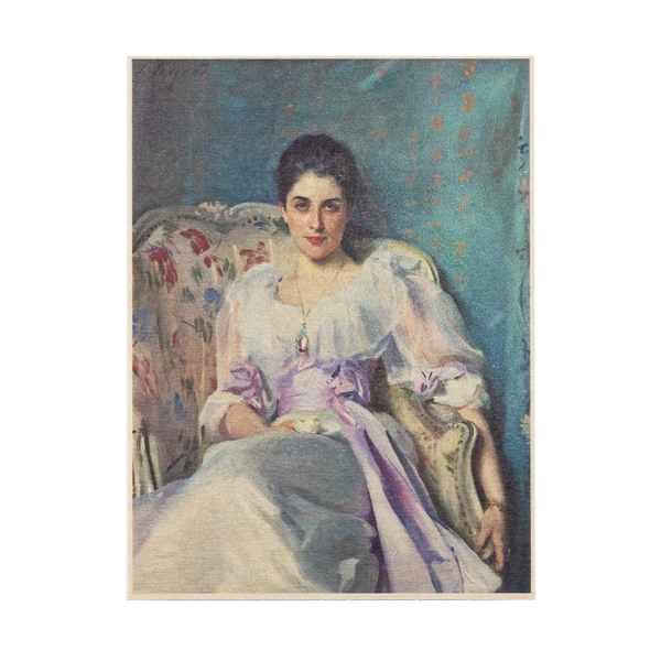 Lady Agnew of Lochnaw by John Singer Sargent wooden print