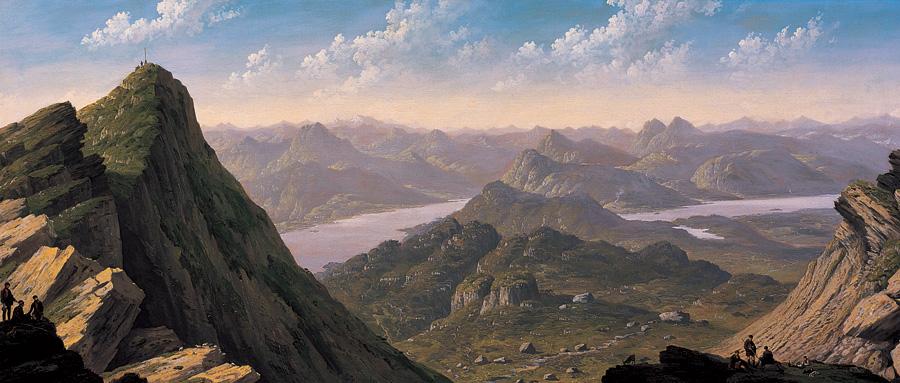 Landscapes of Ben Lomond John Knox notecard wallet (10 cards)