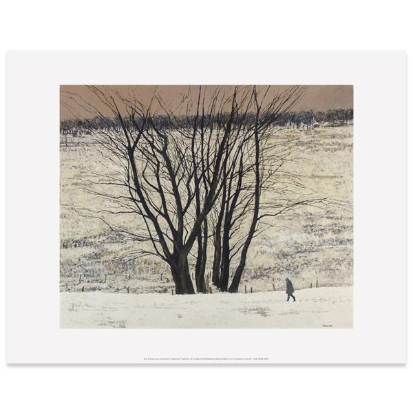 Large Tree Group by Victoria Crowe art print