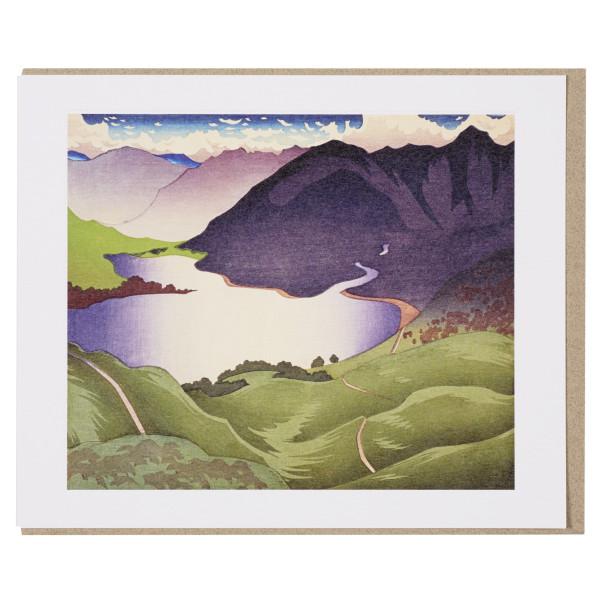 Loch Duich by Ian Cheyne greeting card
