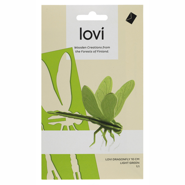 Lovi Light Green Dragonfly Construction Kit