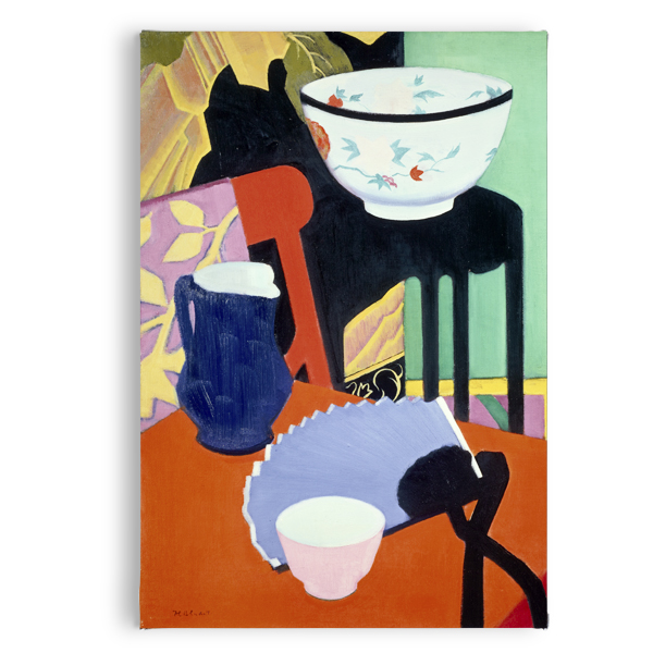 The Blue Fan by Francis Campbell Boileau Cadell magnet