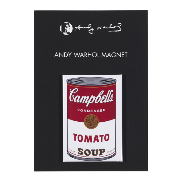 Campbell's Tomato Soup by Andy Warhol magnet