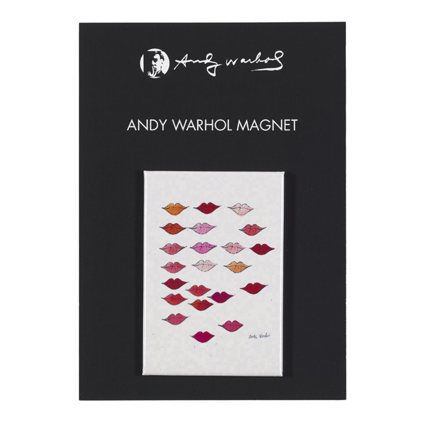 Stamped Lips Andy Warhol Magnet