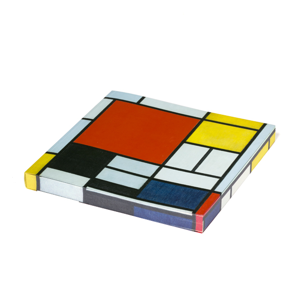Composition by Piet Mondrian square notebook