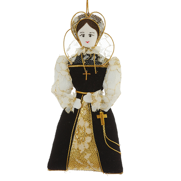 Mary Queen of Scots fabric Christmas decoration