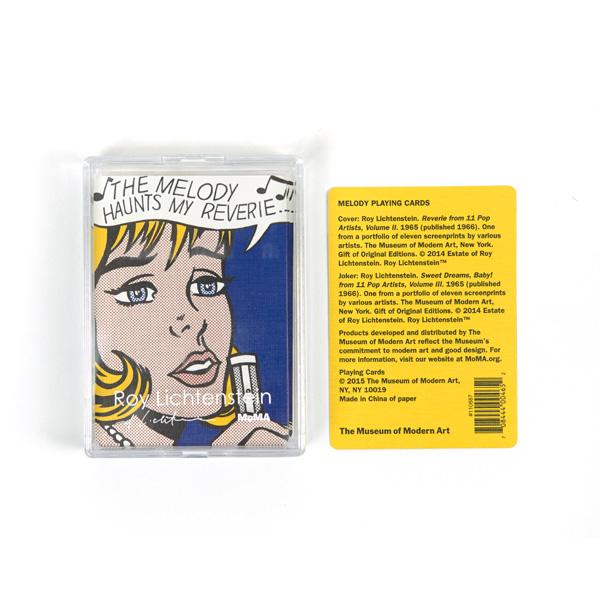Melody Roy Lichtenstein Playing Cards