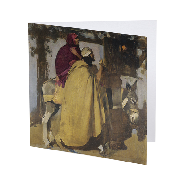 Christmas Eve: 'And there was no room for them in the inn' by Arthur Melville Christmas card pack (10 cards)
