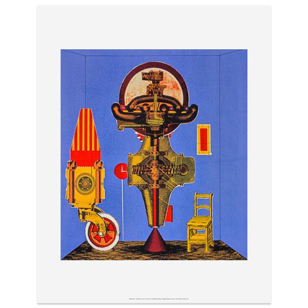 Metalization of a Dream by Eduardo Paolozzi art print