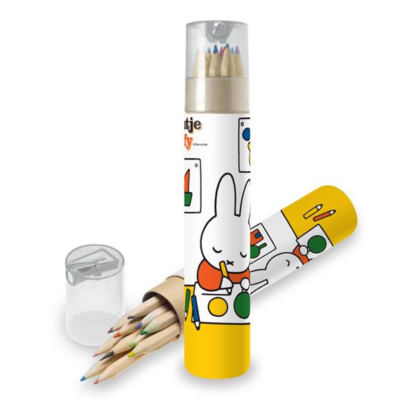 Miffy pencil set (12 colours)