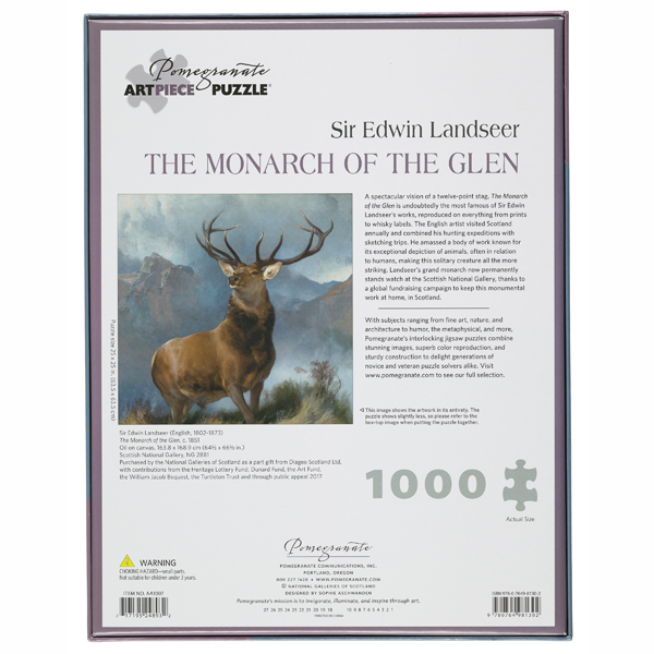 Monarch of the Glen jigsaw puzzle (1000 pieces)