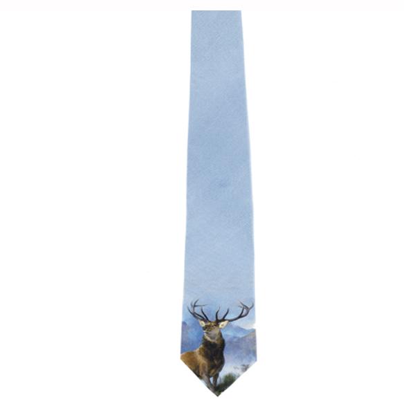 Monarch of the Glen Silk Tie