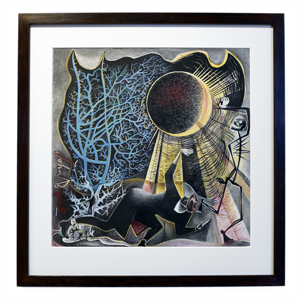 Moonstruck by John Byrne framed limited edition print (edition number 2)