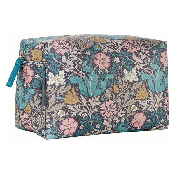 Morris & Co. Pink clay & honeysuckle large wash bag