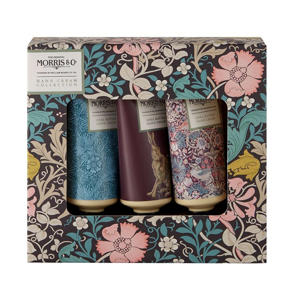 Morris & Co. pink clay & honeysuckle hand cream collection