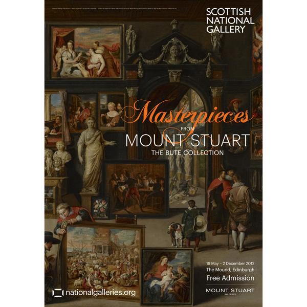 Mount Stuart Exhibition Poster