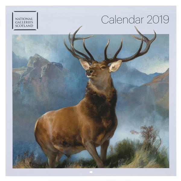 National Galleries of Scotland Calendar 2019