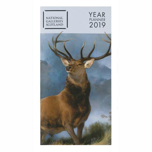 National Galleries of Scotland Year Planner 2019