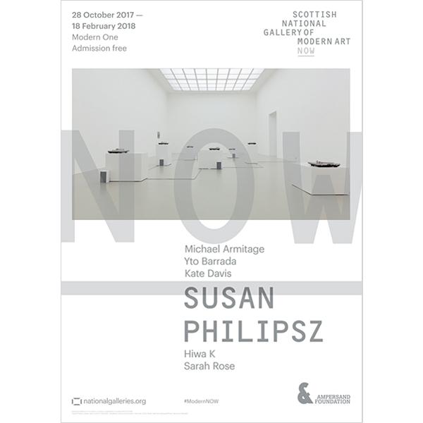 Now II Susan Philipsz Exhibition Poster