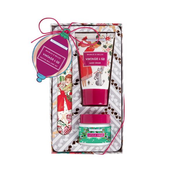 Heathcote and Ivory Vintage Christmas Nailcare Set