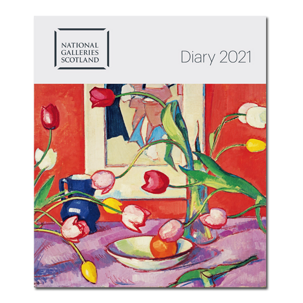 National Galleries of Scotland 2021 desk diary