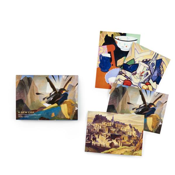 A New Era: Scottish Modern Art 1900-1950 Various Artists Notecard Wallet (12 cards)