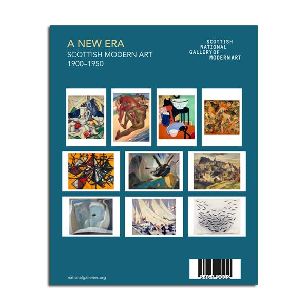 A New Era: Scottish Modern Art 1900-1950 Various Artists 10 postcard pack