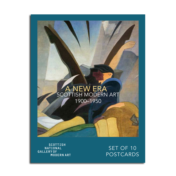 A New Era: Scottish Modern Art 1900-1950 Various Artists 10 Postcard Pack