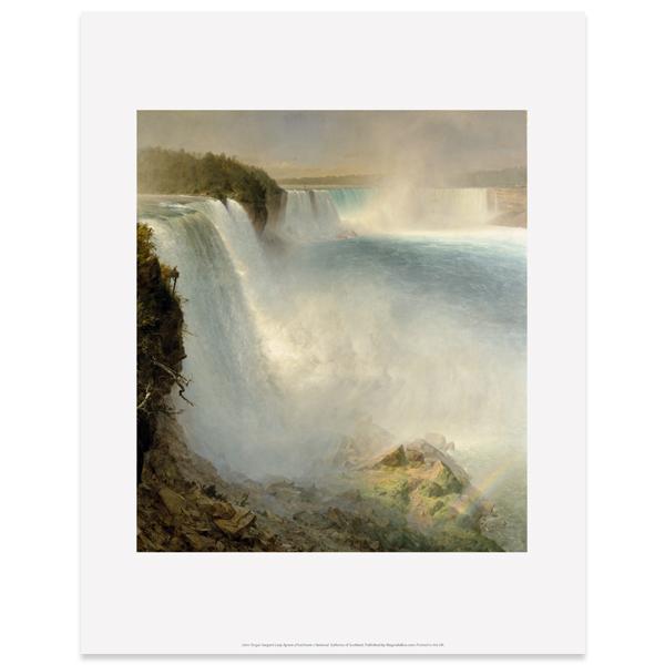 Niagara Falls by Frederic Edwin Church art print