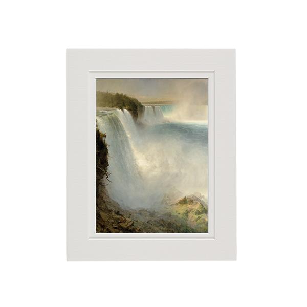 Niagara Falls by Frederic Edwin Church mounted art print