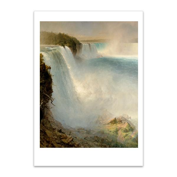 Niagara Falls by Frederic Edwin Church A5 postcard