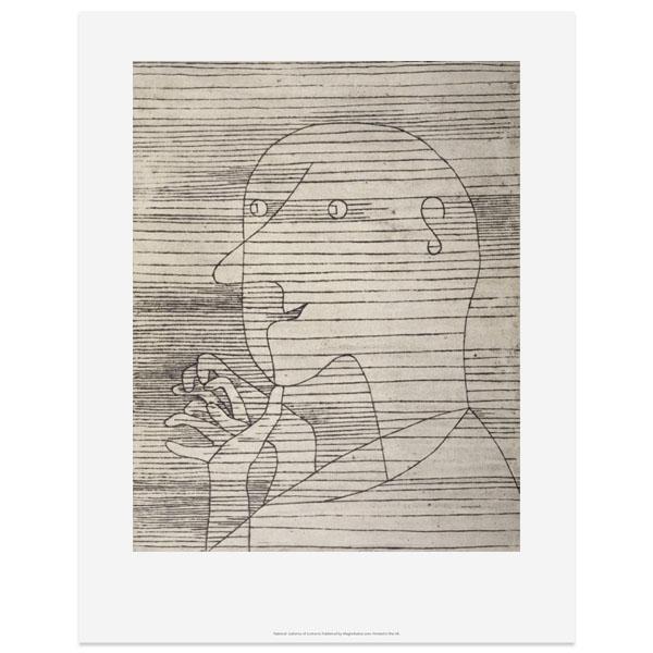 Old Man Calculating by Paul Klee art print