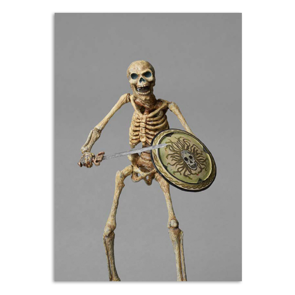 Original Skeleton Model (Medusa Shield) from Jason and the Argonauts A5 notebook