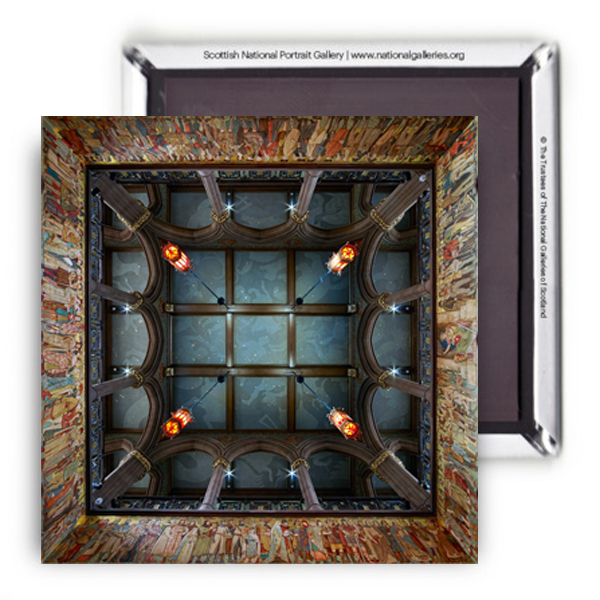 Scottish National Portrait Gallery ceiling magnet