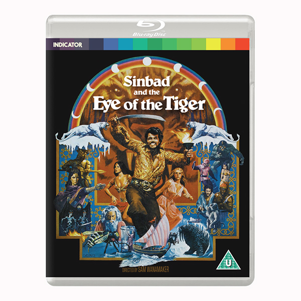 Sinbad and The Eye of the Tiger Blu-ray
