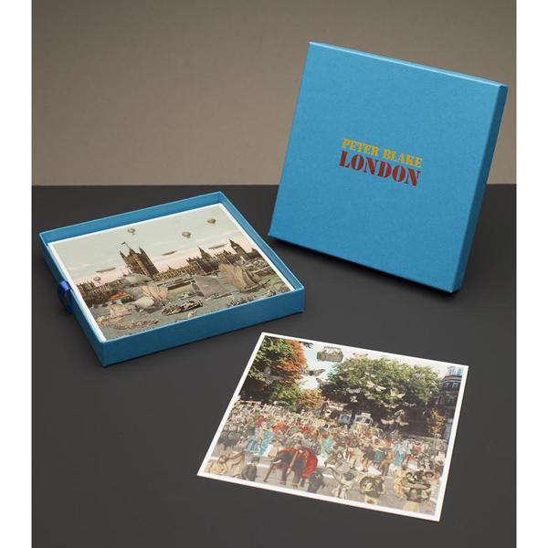 Postcard box | London by Peter Blake (20 postcard prints)