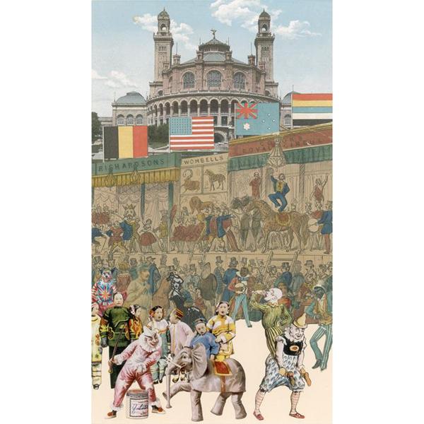 Postcard box | Paris by Peter Blake (20 postcard prints)